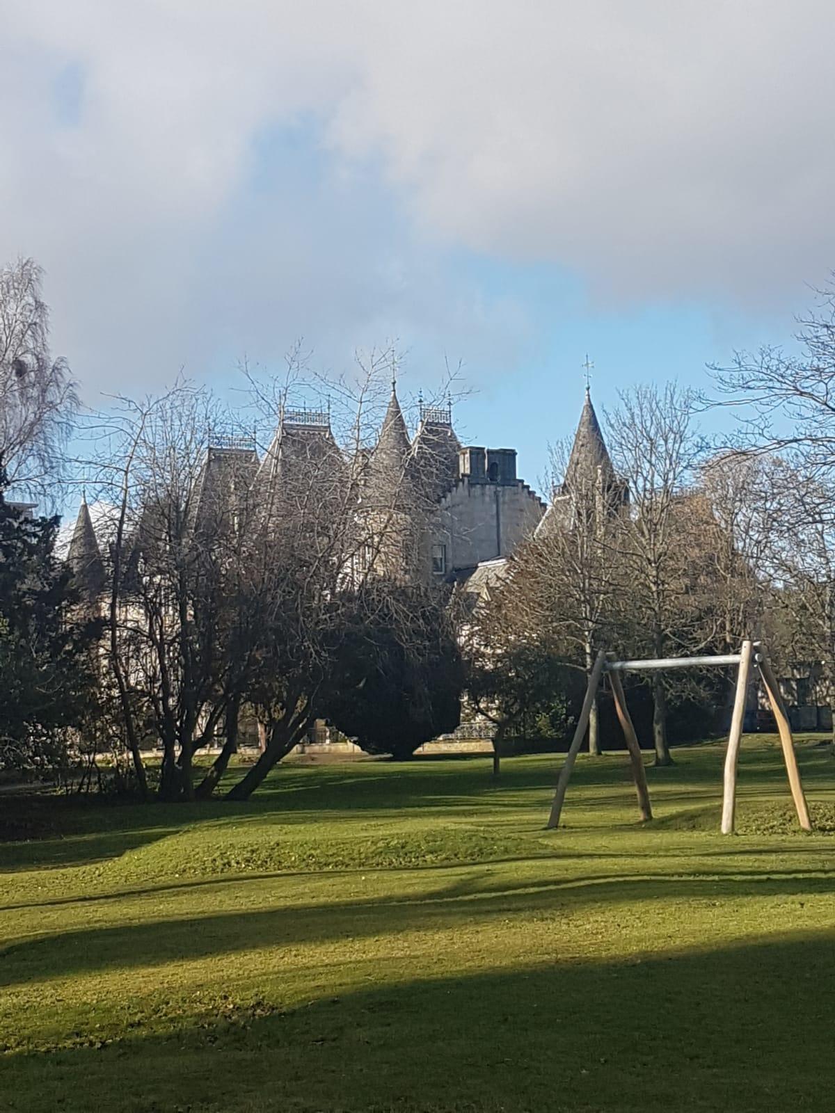 Callendar House, back gardens.