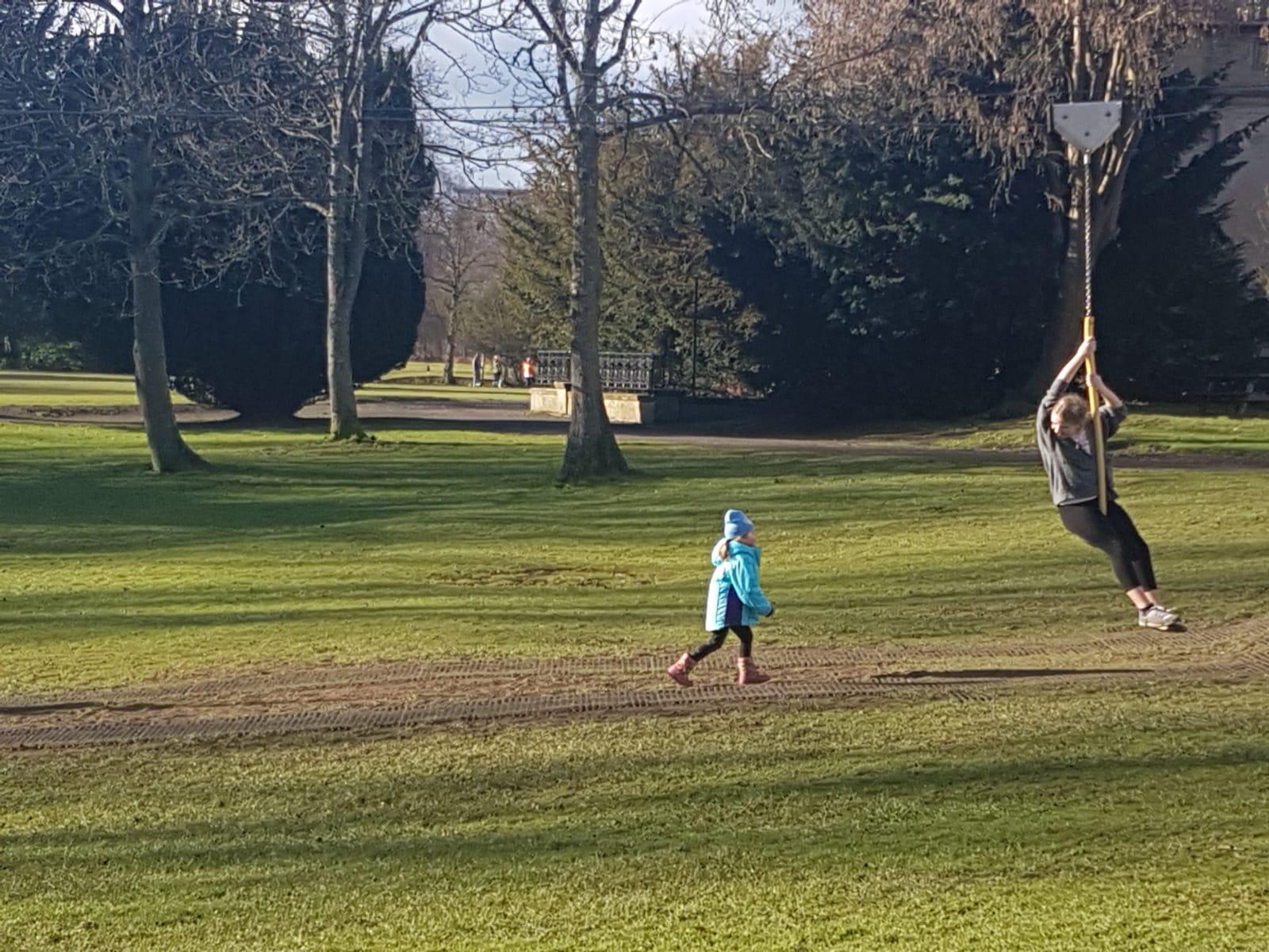 Fun at Callendar Park.